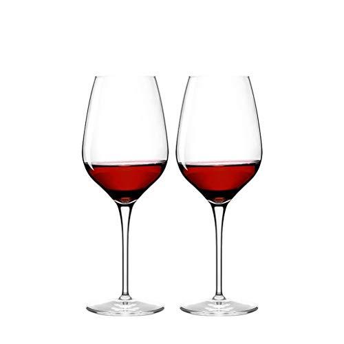 Verre À Vin En Verre À Vin Rouge Verre À Champagne Verre À Vin Verre À Vin Ensemble De 2 Pièces JXLBB (Capacity : 450ml)