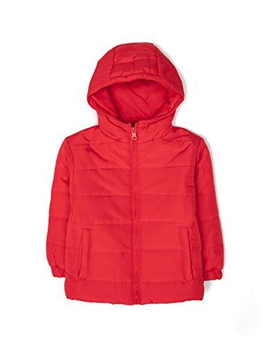 ZIPPY Chaqueta Acolchada ZY, Rojo Chinese Red/18/1663 TC 607, 8 años Tamaño del Fabricante:7/8...