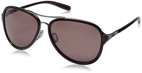 Oakley Damen Kickback Sonnenbrille, Schwarz (Satin Blk Raspberry), 58