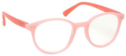 La Compañía Gafas De Lectura Rosa Claro Con Lados