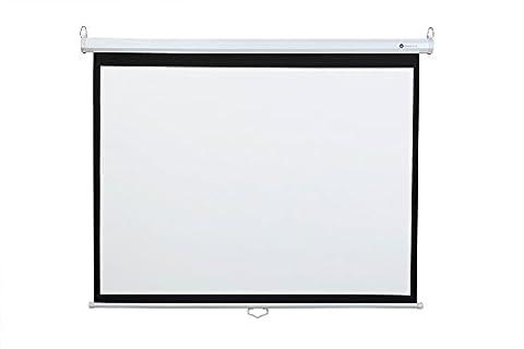 "Homegear 60"" HD 4:3 Manual Pull Down Projector Screen"