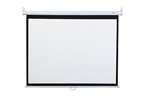 "Homegear 60"" HD 4:3 Manual Pull Down Projector Screen Test"