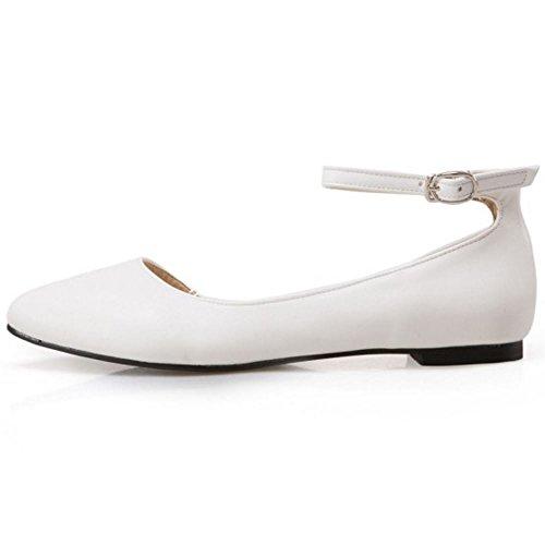 Sandales Sangle Avec Cognac / Bianco Blanc 75r0s3n