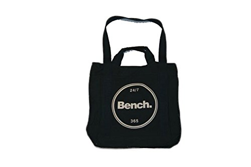 Bench Branded Shopper, Borsa a Spalla Donna, Maritime Blue, Taglia Unica Maritime Blue
