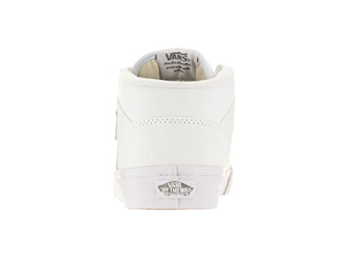 Vans Unisex-Adult Half Cab Schuhe (Canvas) True White/Wild Dove