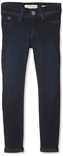 Scotch & Soda R'Belle Mädchen La Milou - Twilight Blue | Super Skinny Jegging Fit Jeans, Blau 1456, 140 (Herstellergröße: 10) Bella Cotton Jeans