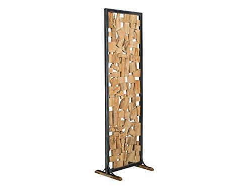Raumteiler Holzstamme Kaufen Regalehoch2