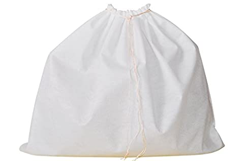 Dust Bag for Leather Handbags (Pack of 5), Shoes & Accessories, Cover Bags, Drawstring Bags, Sleeper Bags, Protective Storage Bags (White)
