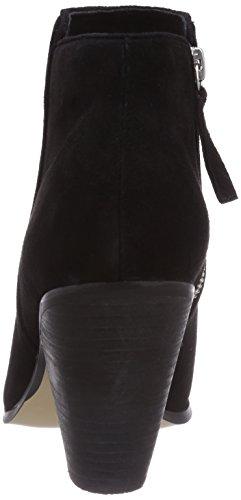 Buffalo London 414-4469 KID SUEDE, Stivali classici imbottiti a gamba corta donna Nero (Black 01)