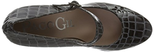 Paco Gil P3146, Mary Jane femme Gris - Gris