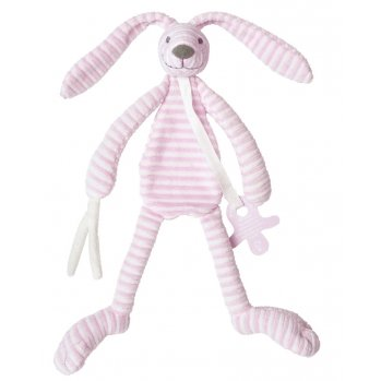 Preisvergleich Produktbild Happy Horse 130614 Hase Reece Schnullerkette / Schmusetier rosa