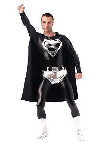 Kostüm 3D Druck StrumpfhosenCosplay Kostüm Film Spiel Rolle Spielen Kleidung Erwachsene Halloween Tragen Outfits (Schwarz-XXL),Black-L ()