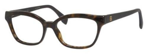 Fendi 0046 montature per occhiali da donna, colore: tartaruga, 52 mm 086: dark tortoise