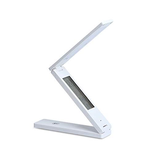 Lampada da tavolo nljy lampada da tavolo pieghevole da lettura a led lampada da tavolo pieghevole da tavolo a luce diretta con comando a tasteggio dimmerabile