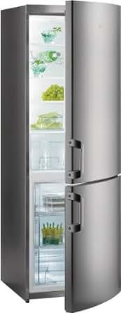 Gorenje RK 61821 X Kühl-Gefrier-Kombination / A++ / 0.6 kWh / 230 Liter Kühlteil / 92 Liter Gefrierteil / Cool`n` Fresh-Schublade / Kühlteil / Abtau-Vollautomatik / Eco Top Ten / edelstahl