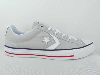 Converse Shoes - Converse Star Player Shoes - Cloud Grey/white (Schuhe Neue Converse)
