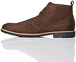 FIND Classic Casual, Men's Chukka Boots Brown (Choc) 8 UK (42 EU)