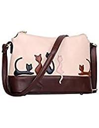 Tradico® Women Animal Contrast Color Handbags Cat Shoulder Bags Rabbit Bag(01)