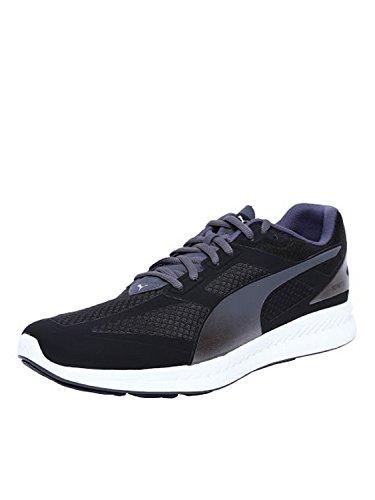 Puma - Ignite Mesh, Sneakers da uomo, Nero (Schwarz (black-periscope 04)), 46