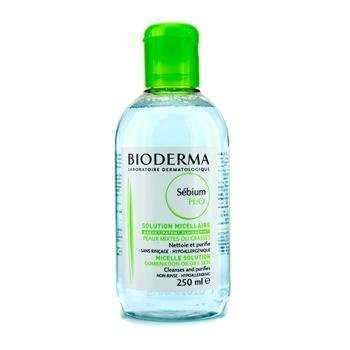 Bioderma Sebium H2o Cleansing Solution for Oily or Combination Skin 250 Ml by Bioderma
