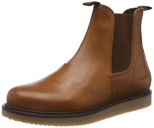 TEN POINTS Damen Carina Chelsea Boots, Braun (Cognac 319), 38 EU
