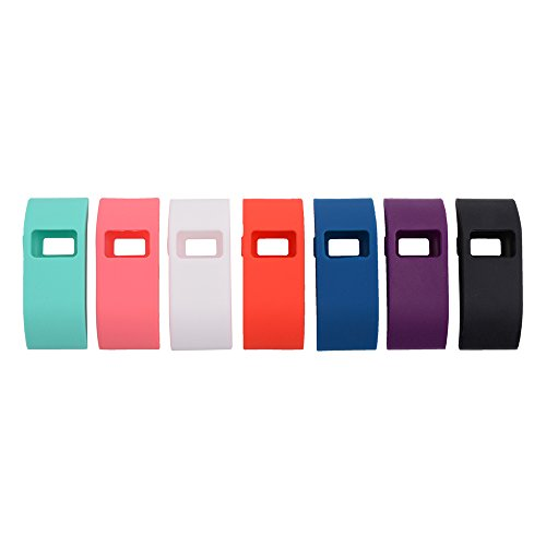 xcsource-7pcs-colorful-band-cover-slim-designer-sleeve-protector-for-fitbit-charge-fitbit-charge-hr-