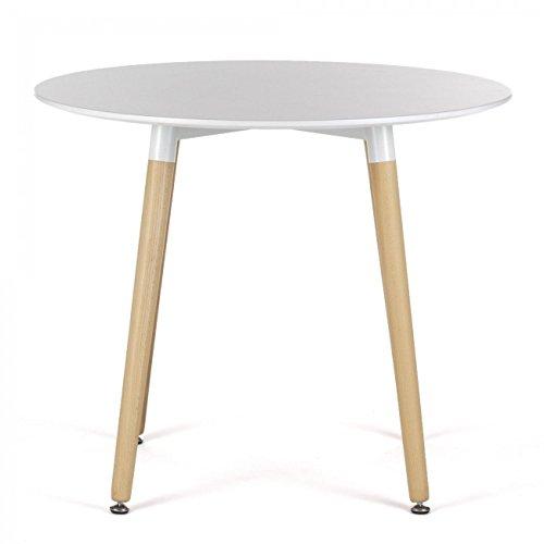 MY SIT Design Tisch Beega weiß