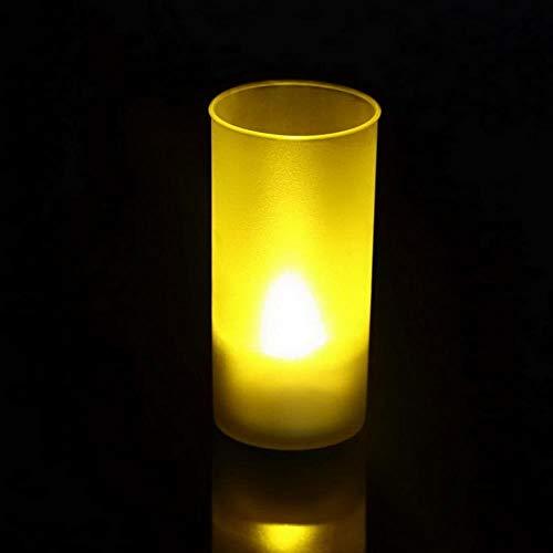 rtgfb Duftkerze Lavendel Geschenk 1 Stück Wiederaufladbare Sound Sensor Led Kerzenlicht Duftende Dekorative Teelichtkerze Mit Kerzenbecher, China -