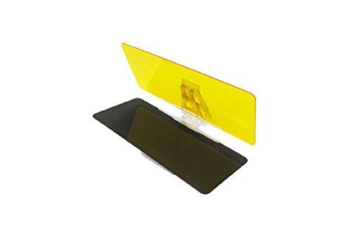 Parasole Antisole Visiera Antiabbagliante Antiriflesso Pannello Giorno e Notte per Auto/camper universale