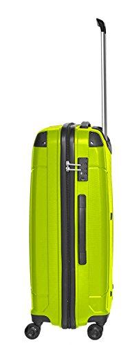 Packenger Silent Hartschale L Koffer, 71 Liter, Hellgrün - 2