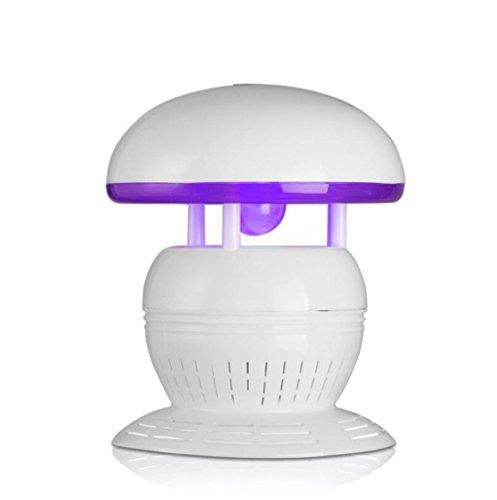 L@CR Elektronische Moskito-Mörder-Lampe, Insektenfalle, USB Angetriebener LED Moskito-Fänger Für Innenaußenhaus-Hinterhof-Garten-Patio