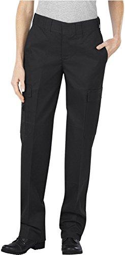 Womens Black Emt Pant (Dickies Frauen P2377 Komfort Taille EMT Hosen, 10 x UU, Black)