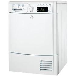 Indesit IDCEG45B Sèche-linge Condensation Blanc