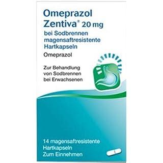 Omeprazol Zentiva 20mg bei Sodbrennen 14 stk