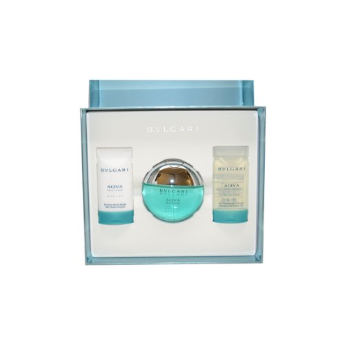 Bvlgari Aqva Marine by Bvlgari for Men Gift Set