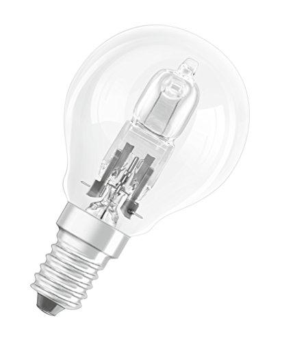 OSRAM Halogen-Lampe, Classic P, E14-Sockel, Dimmbar, 30 Ersatz für 40 Watt 2700K, Glas, E14, W, Warmweiß, 10er Pack, 10 Einheiten - 3