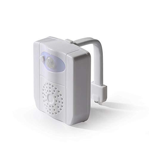 Toilette LED-Licht Desinfektion, Badezimmer Motion Infrarot-Sensor Lampe, 16-Farben-Nachtlicht, WC-Sitz Aromatherapie Hängelampen -
