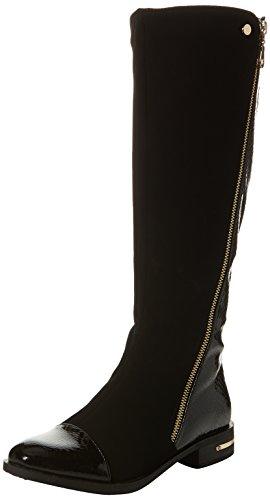 Lotus Women's Pontal Riding Boots, Black (Black Micro/Shiny), 6 UK 39 EU