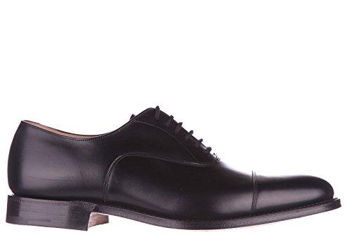 Church's scarpe stringate classiche uomo in pelle nuove oxford dubai nero EU 41 6178 11