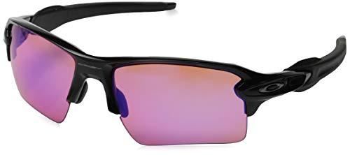 Oakley Herren Sonnenbrille Flak 2.0 XL, Schwarz (Negro Brillo), 0