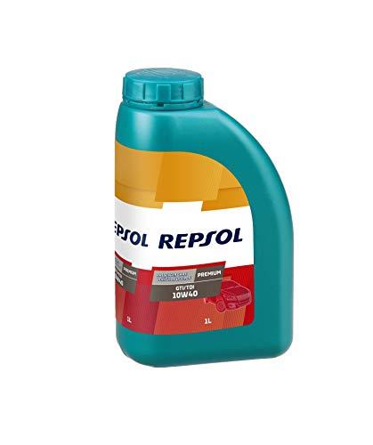 Repsol Premium GTI/TDI 10W40 Aceite lubricante para Motor de vehículo Ligero, 1 L