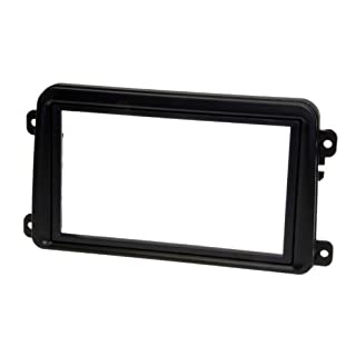 Adapter Universe Car Automobile Double 2DIN Radio Cover Installation Panel Frame Shaft Set for VW Seat Skoda