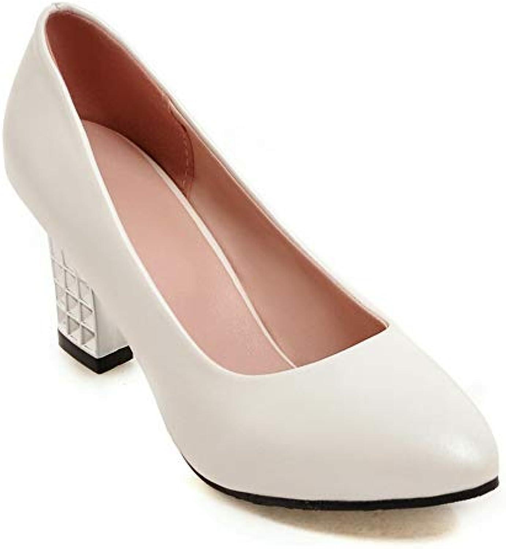AdeeSu SDC05603,  s Compensées Femme - - Femme Blanc - Blanc, 36.5 EUB07GNS7JT1Parent de13de