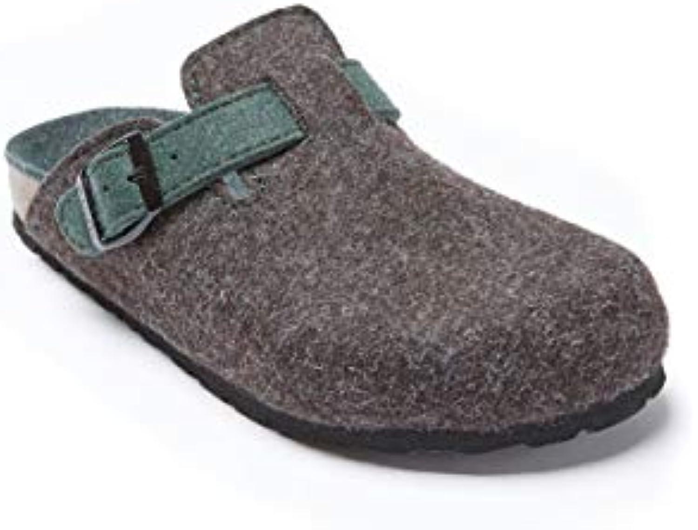 Mandèl Pantofola Modello Noe di Coloreee Coloreee Coloreee Testa di Moro in Feltro | Lascia che i nostri beni escano nel mondo  bc5616