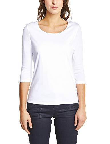 Street One Damen T-Shirt 311693 Pania, Weiß (White 10000), (Herstellergröße:38) -