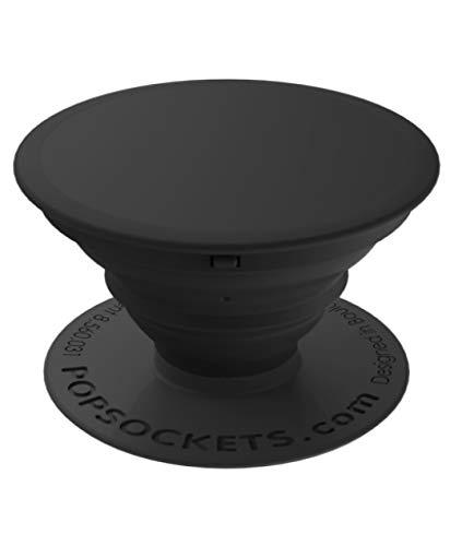 PopSockets - Ausziehbarer (Nicht Austauschbarer) Sockel und Griff für Smartphone und Tablet - Black -