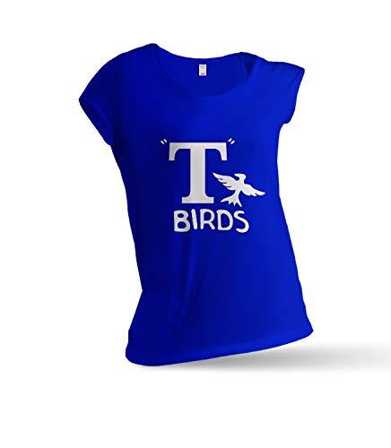 65cf202beead2 JEMASHOP T Shirt Woman Blue Inspired by Grease. T Birds. Danny Zuko.  Kenickie. Doody. PUTZIE. Sonny (XS - XXL) XXL
