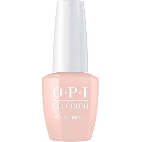 OPI GelColor Esmalte De Gel De Uñas Color Put it