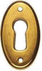 Entrée de clé Ancienne Fine en Laiton