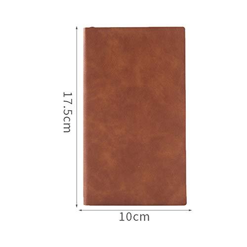 JISHUREN Loseblatt horizontale Linie Notebook Sub-Notebook abnehmbare Besprechungsnotiz diesen Zeitplan Plan Büroarbeit Notizblock